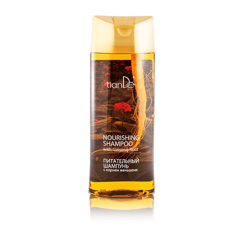 Nourishing shampoo with ginseng root 450g