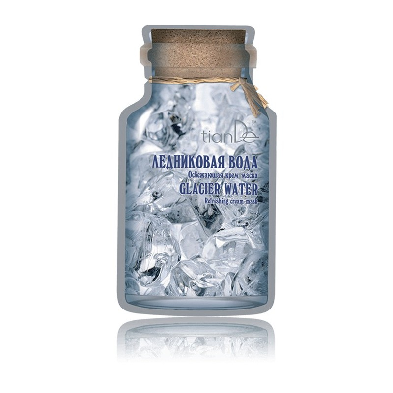 Glacier Water Refreshing Cream-mask