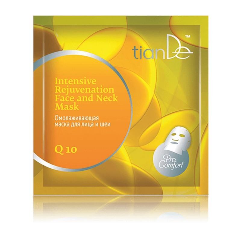 Intensive Rejuvenation Face and Neck Mask Q 10