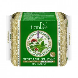 Nephrite Freshness Herb Night Sanitary Pads, Super, 10pcs