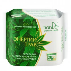 Night time sanitary pads Herbal Energy 8pcs