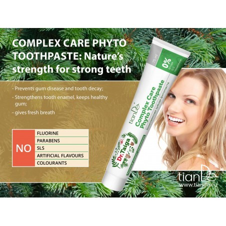 Complex Care Phyto Toothpaste, 75ml