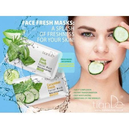 Cucumber Fresh Facial Mask