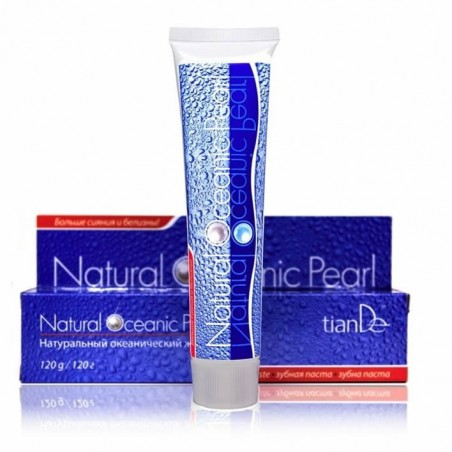 Toothpaste Natural Ocean Pearl 120g